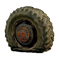flat tire big