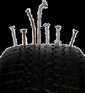 nail tire